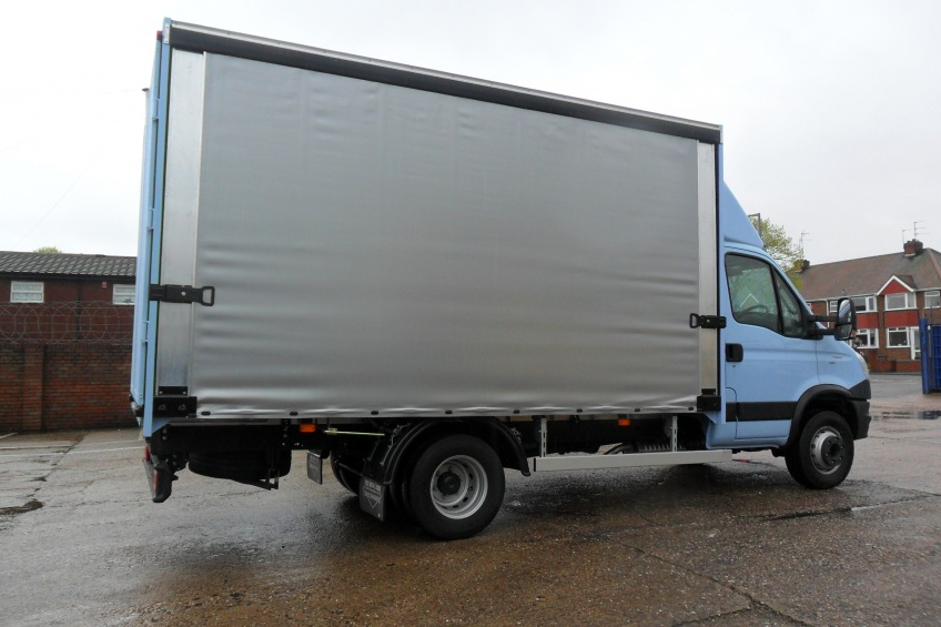 ada slider, quick access, Iveco, Daily, brewery, water cooler