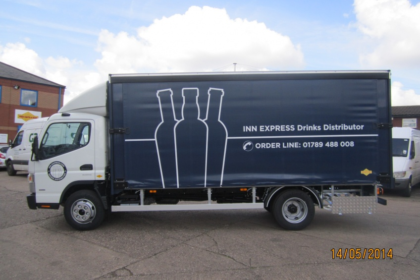 ada slider, quick access, fuso, canter, brewery, water cooler