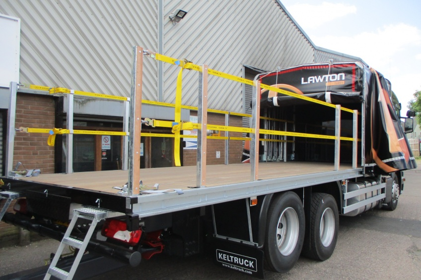 draw bar, slider flex, slidaflex, steel carrier, fall prevention, fall arrest, step, Scania