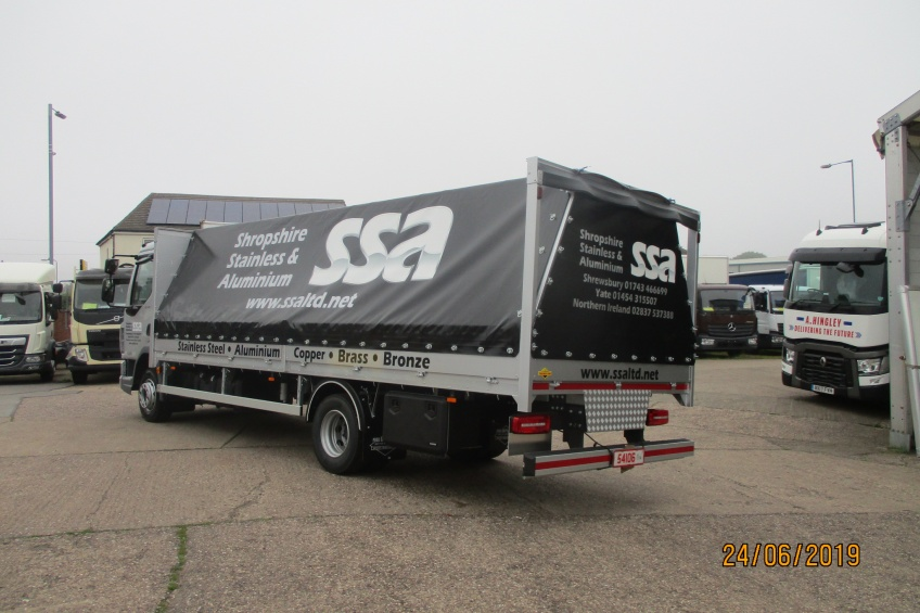 Tilt over, dropside cover, daf,